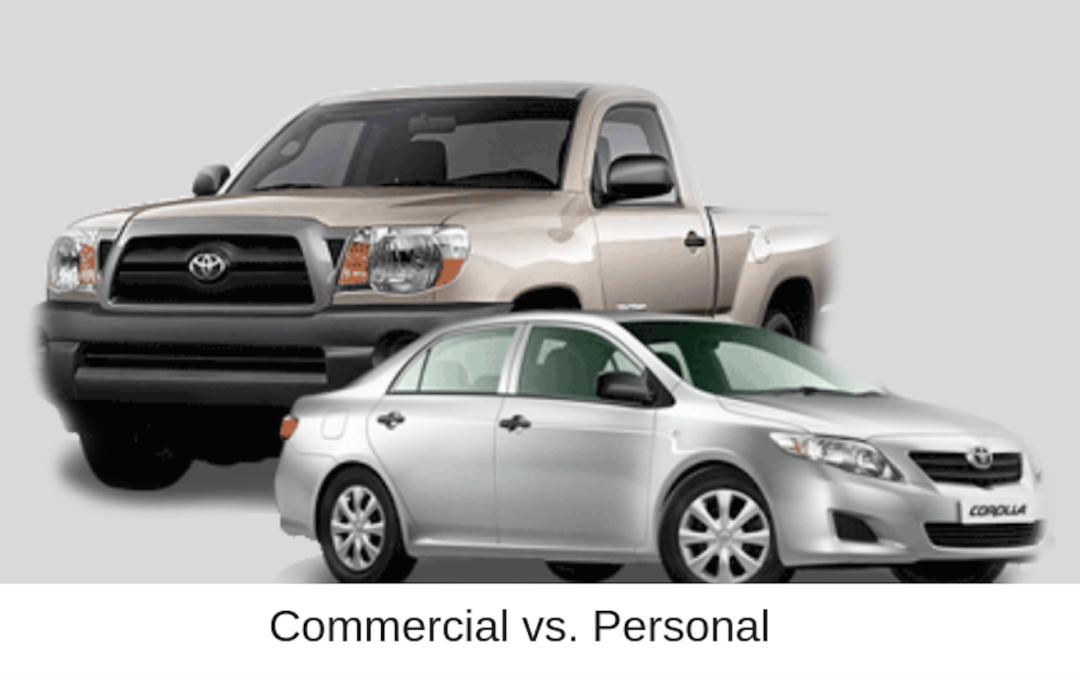 Commercial Auto vs Personal Auto